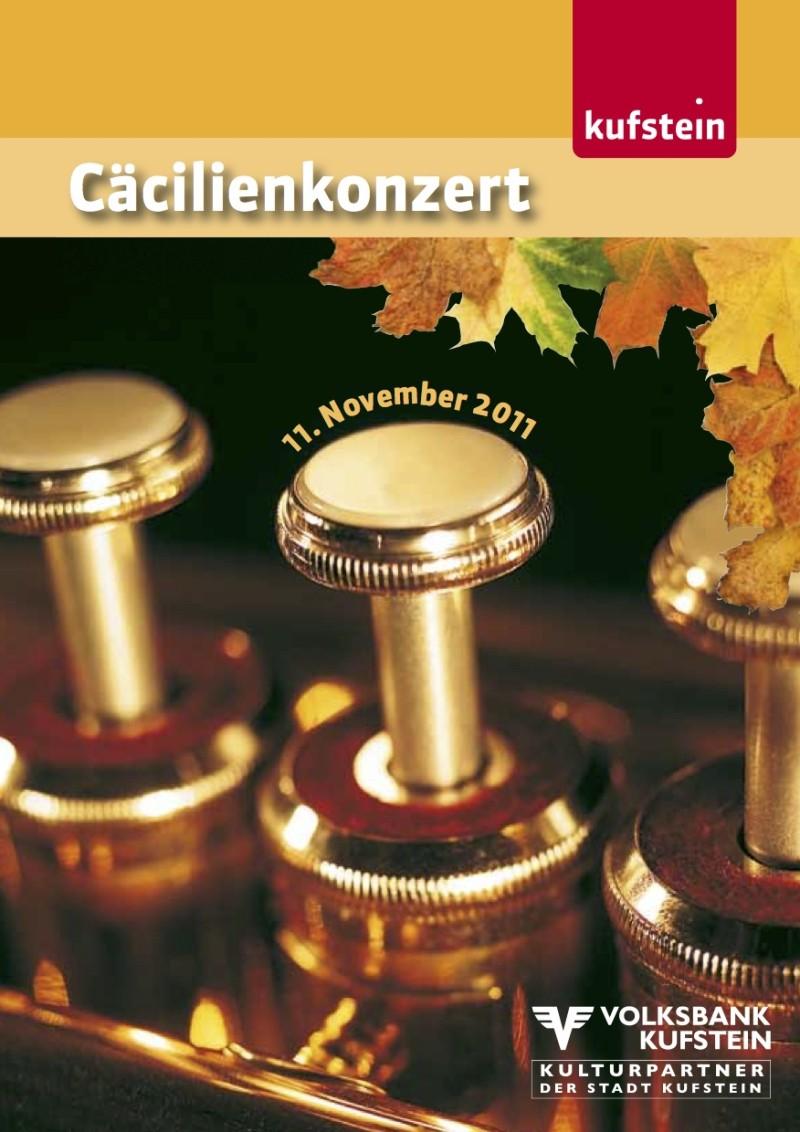 Cäcilienkonzert 2011 Heft