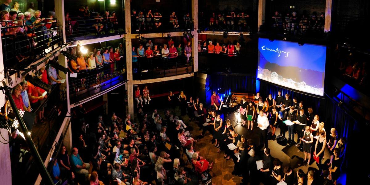 Es nahmen teil: JUKO Innsbruck, Chor der Vielfalt, Vocappella, Kammerchor Innsbruck, Kammerchor Collegium vocale Innsbruck