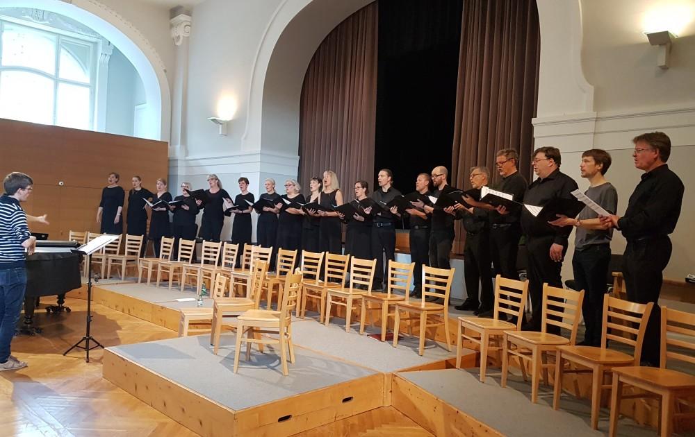 18. Mai 2019: Kammarkören Högalid, Stockholm - Leitung: Benedikt Melichar